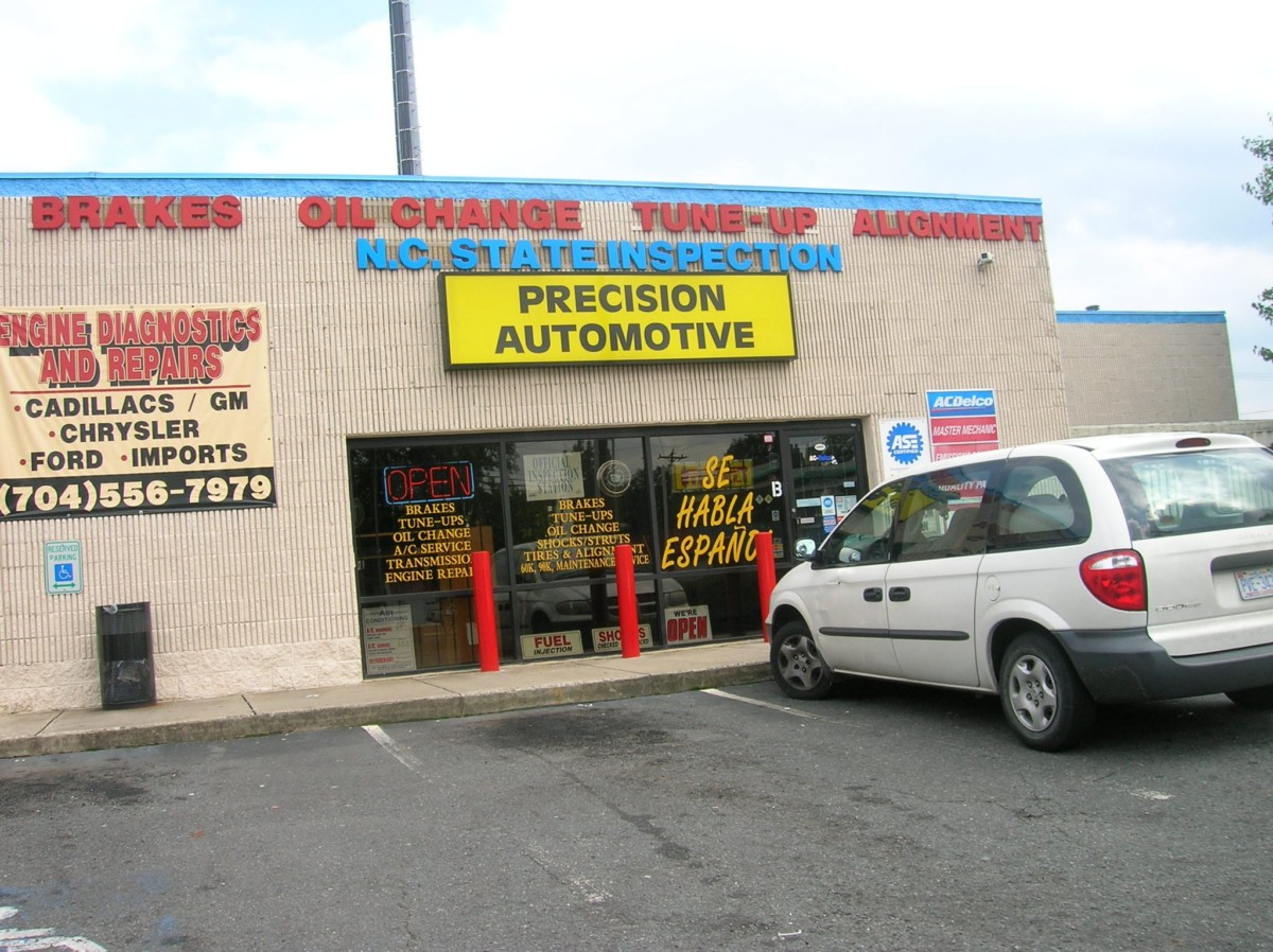 Charlotte NC Auto Repairs & Maintenance